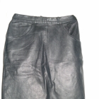 taliowana skorzana spodnica