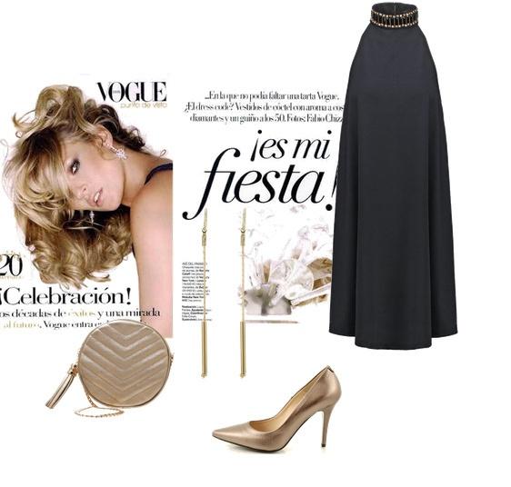 Eleganckie Czarna elegancja