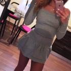 dresowa sukienka mini
