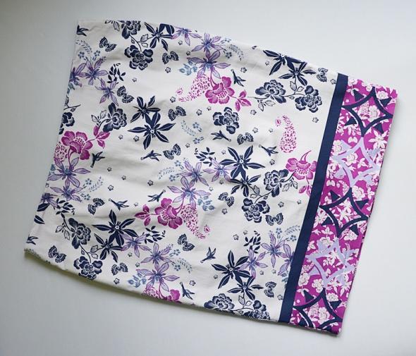 Spódnice Spódnica ołówkowa elegancka M&S kwiaty 46 48