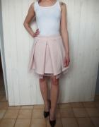 pudrowa różowa spódniczka falbanki tiul princeska...