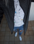 adidas superstar bomberka marchewy takos