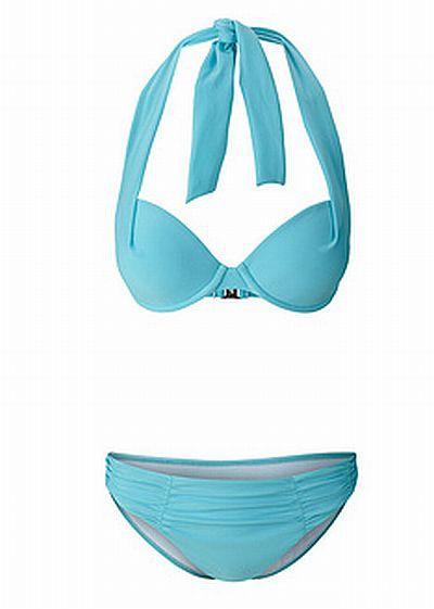 Błękitne bikini rozm 36 B NOWE