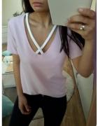 bluzka z paskami