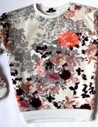 Świetna Kwiatowa Wzorzysta Bluza Desigual