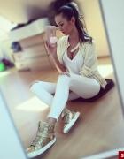 Złoto biel