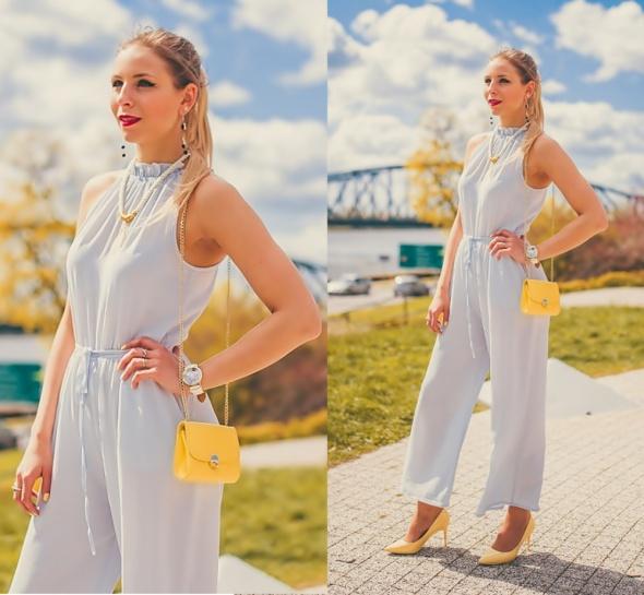 Blogerek Grey jumpsuit