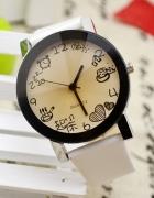 Biały Zegarek Lansik