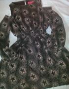 sukienka w gwiazdy boho...