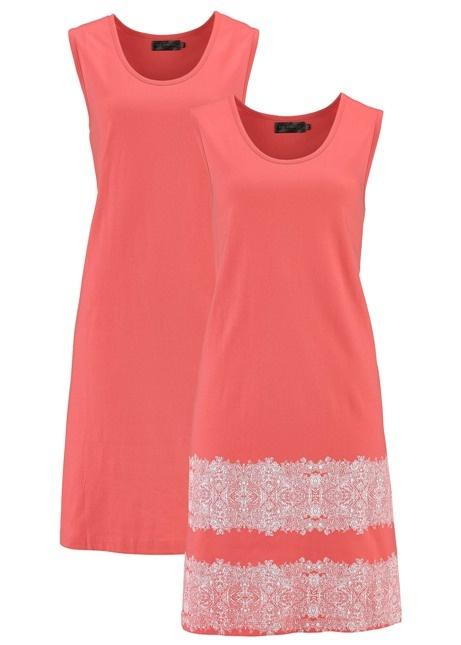 e537e4d6e9 40 42 Śliczne bawełniane sukienki koralowe lato w Suknie i sukienki ...
