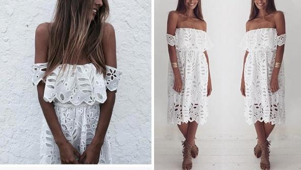 Nowości moda z odkrytymi ramionami lato 2016