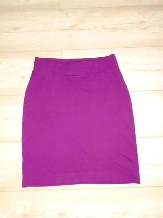 Spódnice bordowa spódniczka h&m