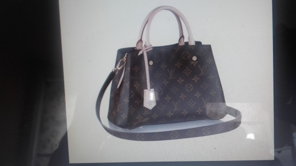 Louis Vuitton Torba model Montaigne MM lub Turenne...
