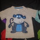 koszulka szara z małpką