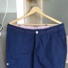 Granatowa spódniczka z kieszeniami XL