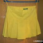 żółta spódniczka XS S
