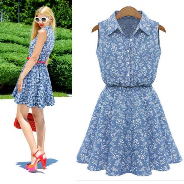 Sukienka niebieska nowa rozmiar S