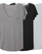 tshirt bluzka koszulka luźna oversize minimal...