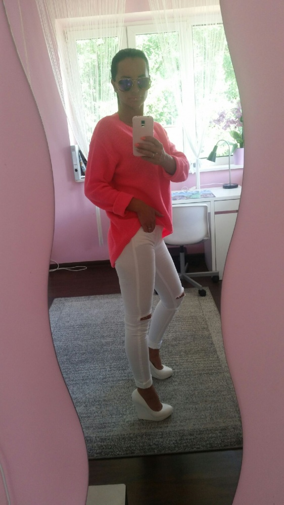 Codzienne pink& white