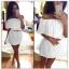 hiszpańska sukienka odkryte ramiona krótka mini