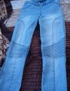 CUBUS jeansowe leginsy przeszycia...