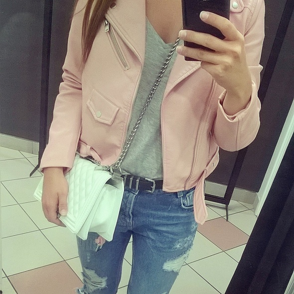 Codzienne Pink Jacket Zara Basic