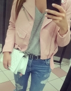Pink Jacket Zara Basic