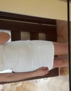 biala sukienka tuba