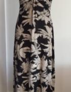 Your Style angielska sukienka maxi 42
