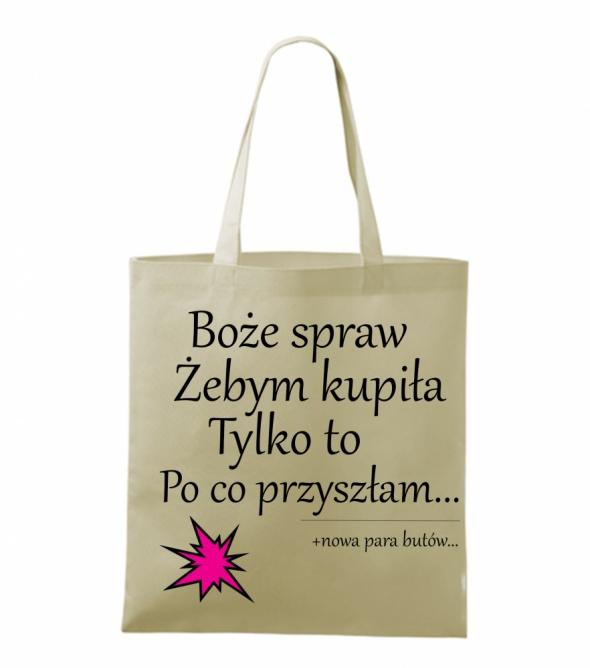 27f064f9d96b4 Torby na zakupy nadruk napisy w Torebki na co dzień - Szafa.pl