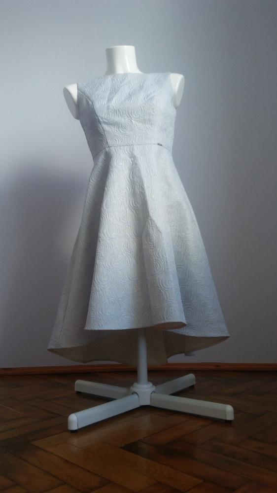 a99bc17399 Sukienka błękitna Taranko w Suknie i sukienki - Szafa.pl