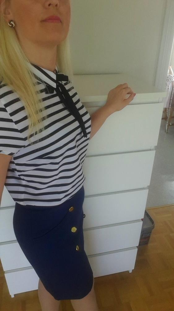 Codzienne Marynarski styl