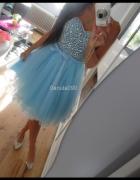 baby blue princeska