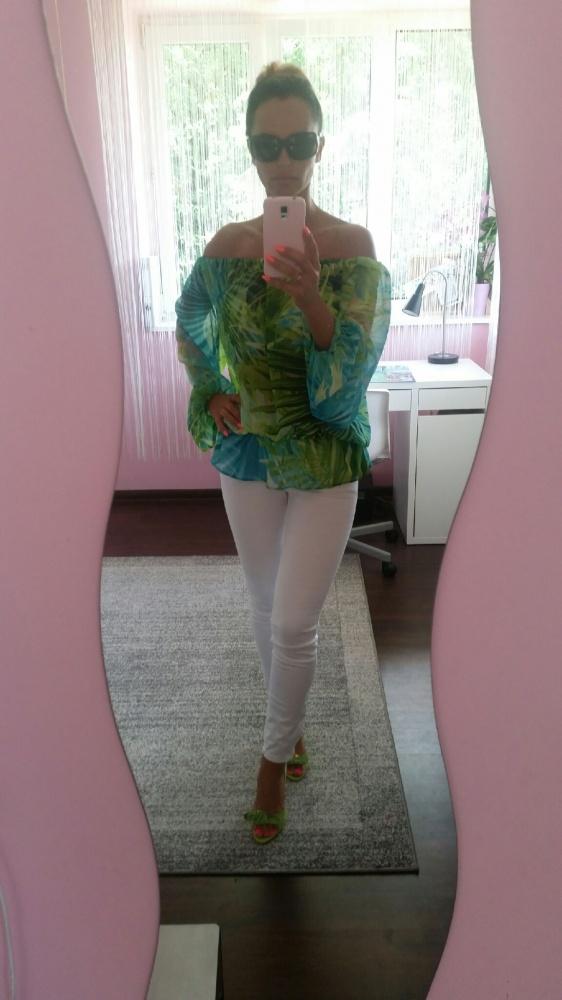 Codzienne green & white