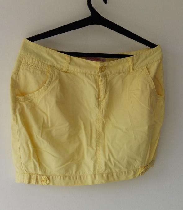 Spódnice HOUSE L żółta spódnica