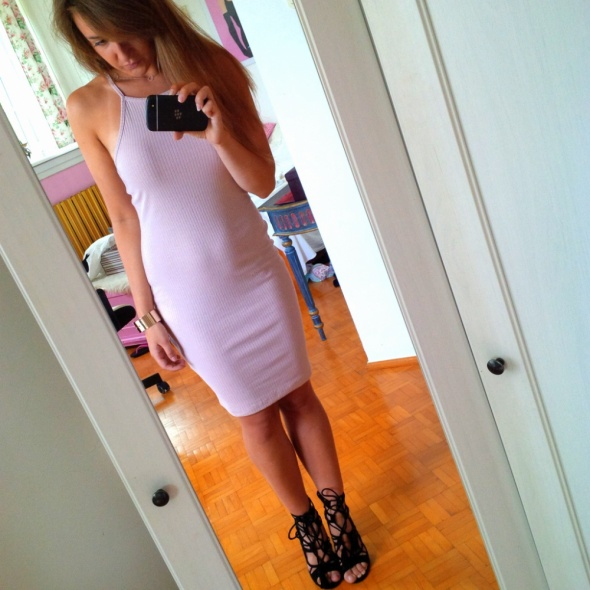 Mój styl nude dress