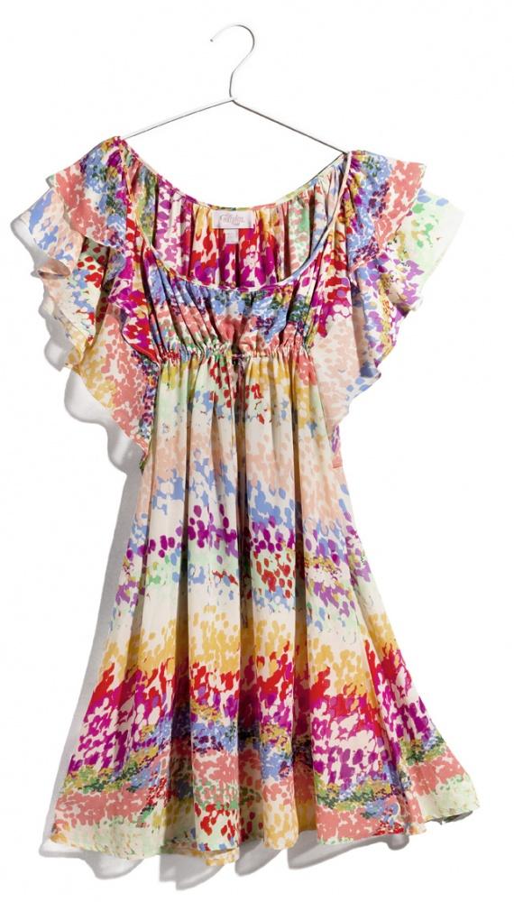 h&m Garden Collection sukienka kolorowa 36...