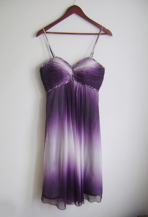 sukienka midi ombre M