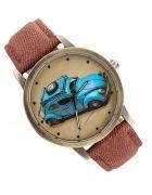 Zegarek Brązowy Auto