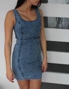 Jeansowa sukienka denim Co XS