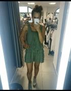 sukienka khaki na upalne dni od Moda For You