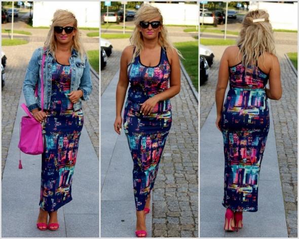 Blogerek Jeans i maxi