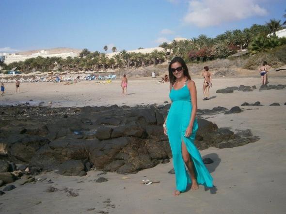 sukienka na wakacje...
