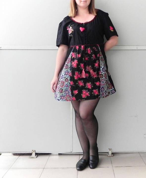 12e46587cf Suknie i sukienki KappAhl sukienka tunika boho frędzle etniczna kwia