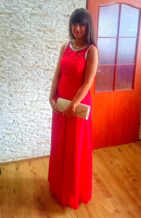 Eleganckie Suknia balowa