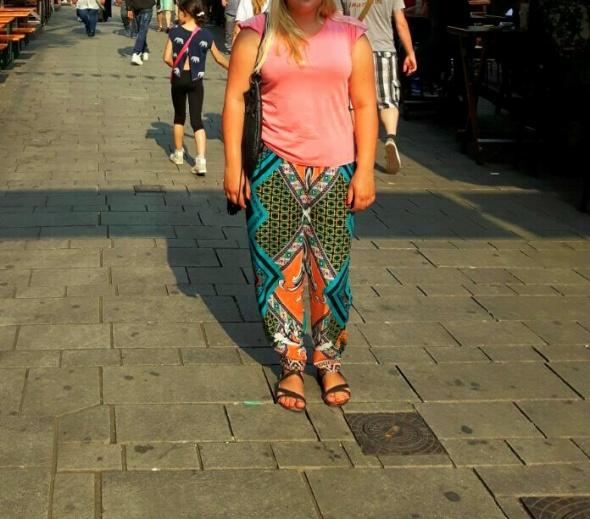 Codzienne Kolorowe spodnie