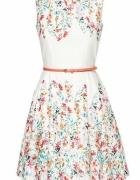 Sukienka Orsay Kwiatki rozkloszowana