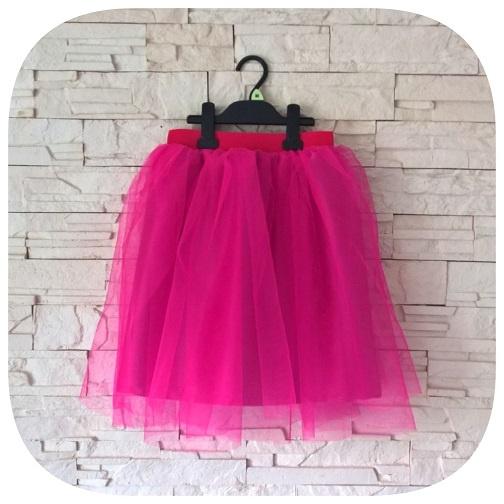 72c0c2a766 Sukienki i spódniczki Spódniczka tiulowa TUTU fuksja dla dziewczynki