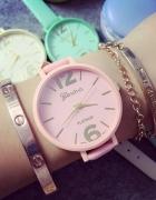 Geneva zegarek pastel pink HIT darmowa Wys