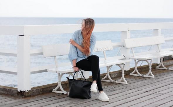 Blogerek stylizacja na molo